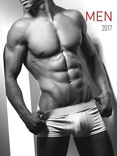 Men 2017 - Männer - Bildkalender (42 x 56) - schwarz/weiß - Erotikkalender