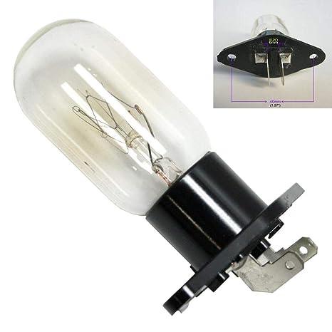 Bombilla universal para horno de microondas de 25 W para GE ...
