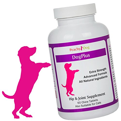 DogPlus Tablets Joint Supplement. Extra Strength with Glucosamine, Vitamins & Omega Oils. Reduce Pain & Inflammation, Improve Comfort & Flexibility, Accelerate Recovery & Maintain Healthy Joints (Lab Cardigan)
