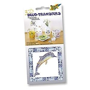 Folia 3D Deco-transferencias 10 x 10 cm o de etiqueta 6,5 x 13,5 cm para cocina & baño