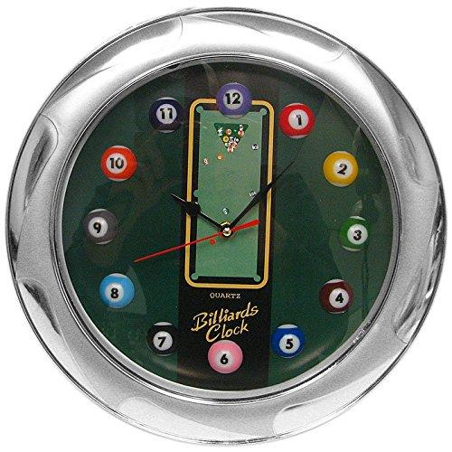 13 Inch Pool Ball Themed Quartz Wall Clock