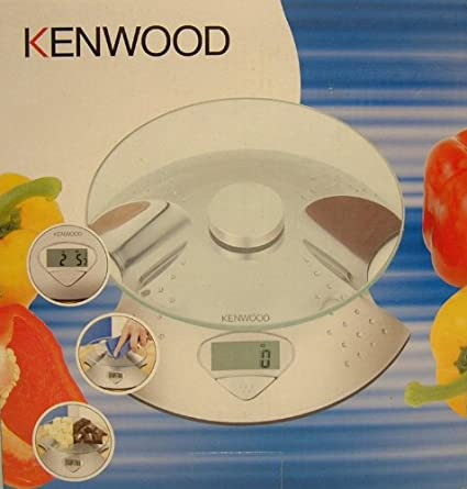 Kenwood Electronic Scale Ds607 Silver Glass 3 Kg