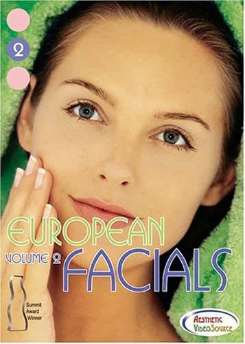 European Facials Volume 2 Facial DVD - Great Video for Medical & Master Estheticians. Learn About Facial Treatments, Skin Care Products, Face Massage Techniques, Essential Oils, Extractions, Ampoules, Exfoliation & more... with Rita Page.