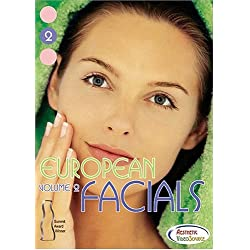 European Facials Volume 2 Facial DVD - Great Video for Medical & Master Estheticians. Learn About Facial Treatments, Skin Care Products, Face Massage Techniques, Essential Oils, Extractions, Ampoules, Exfoliation & more... with Rita Page. (1.5 Hours)