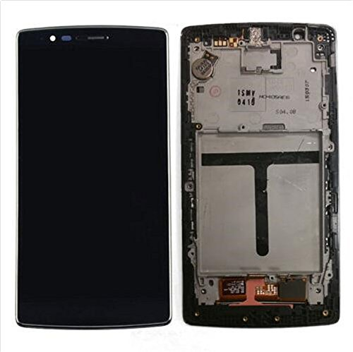 Click to buy LCD Touch Screen Digitizer Assembly For LG G Flex 2 LS996 H950 H955 (Black + frame) - From only $95.41