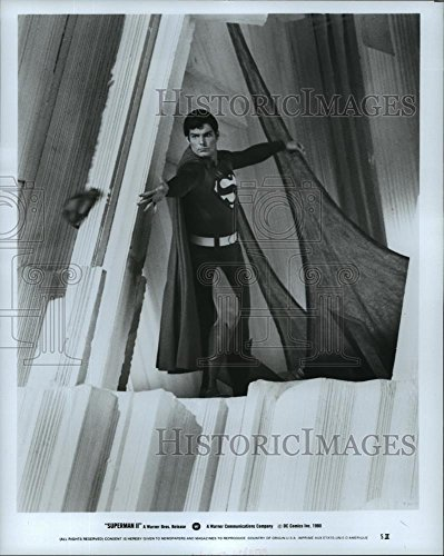 Vintage Photos 1980 Press Photo Christopher Reeves stars in Superman II - spp22286