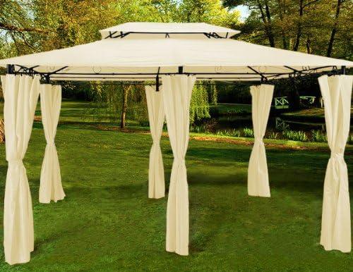 Pavilion Garden Pavilion Carpa 4x3 crema mod: Amazon.es: Hogar