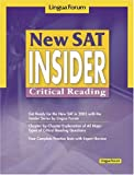 New SAT Insider: Critical Reading