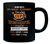 Spa Resort Attendant Big Cup Of Awesome Sassy Classy - Mug