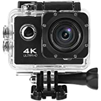 Domybest Outdoor Mini 2.0in 4K HD WiFi Sport Camera Waterproof Wide Angle Camcorder