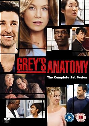 Greys Anatomy Season 1 Dvd Amazon Ellen Pompeo Sandra
