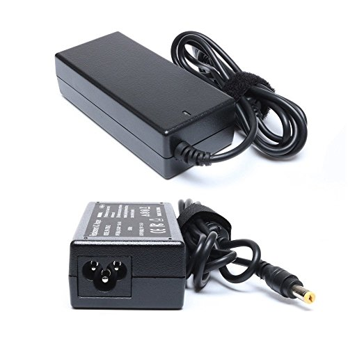- 65W AC Adapter Power Charger for Acer Aspire E1 E5 E15 ES1 E1-510 E1-510P E1-571G E5-511 E5-511P E5-575 E5-575-33BM E5-575T ES1-S12 Laptop Supply Cord