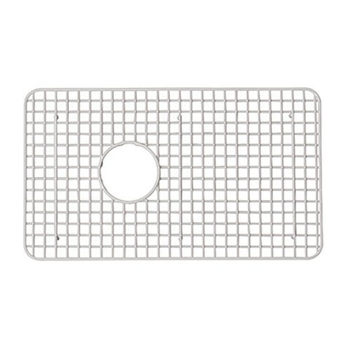 Rohl WSG6307SS 26-1/4-Inch by 15-1/4-Inch Wire Sink Grid for 6307 Kitchen Sinks in Stainless Steel by Rohl by Rohl