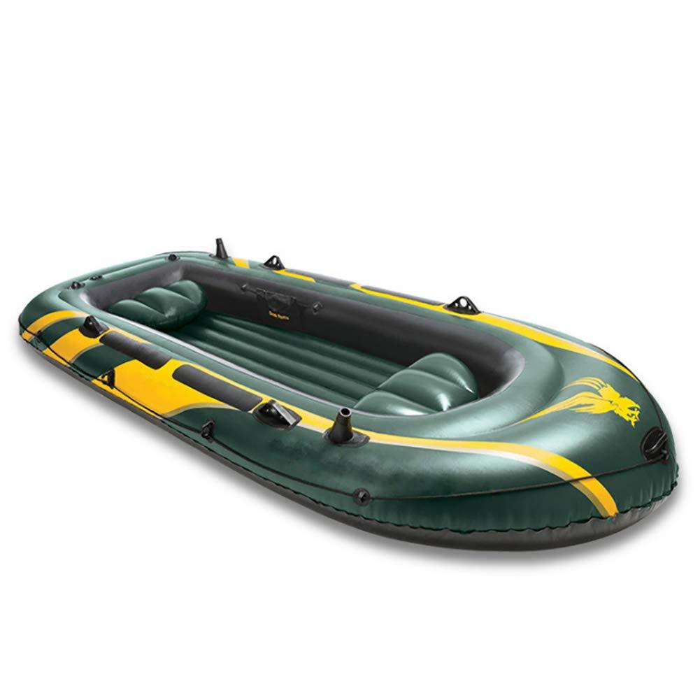 DMBHW 4 Personas Bote Salvavidas Barca Hinchable El Motor Puede ...