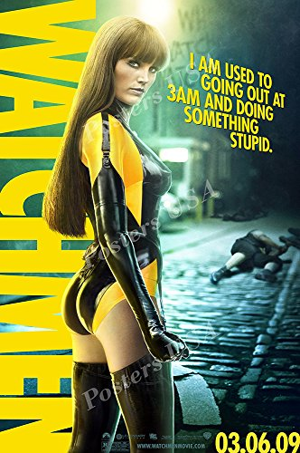 Posters USA DC Watchmen Silk Spectre Movie Poster GLOSSY FINISH - FIL223 (24