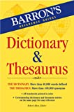 Barron's Dictionary and Thesaurus, , 0764136062
