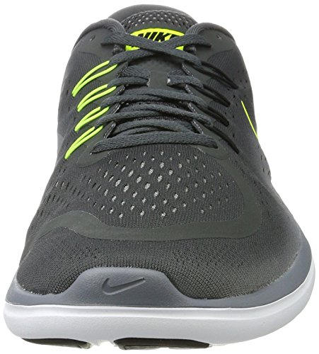 Nike Men's Nike Free Rn Sense Running Shoe, Zapatillas Deportivas para Interior para Hombre Multicolor (Anthracite/volt-cool Grey-black)