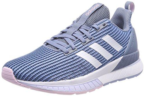 adidas Questar TND W, Chaussures de Running Femme Multicolore (Raw Grey S18/ftwr White/aero Blue S18)