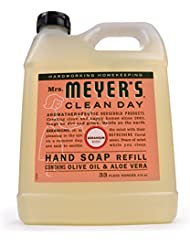 Mrs. Meyer's Liquid Hand Soap Refill Geranium, 33 FL OZ