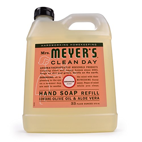 Mrs. Meyer's Liquid Hand Soap Refill Geranium, 33 FL OZ