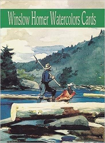Bedste lydbøger torrent download Winslow Homer Watercolors Cards (Dover Postcards) PDF ePub iBook