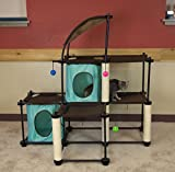 ♛ Kitty City Steel Claw Mega Kit Cat Furniture ☼