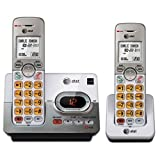 AT&T EL52203 2 Handset Cordless Answering System with Caller ID/Call Waiting (Certified Refurbished)