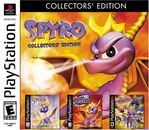 Spyro Collectors' Edition - PlayStation (Spyro Games Playstation)