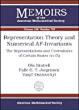 Representation Theory and Numerical AF-Invariants, Ola Bratteli and Palle E. T. Jorgensen, 0821834916