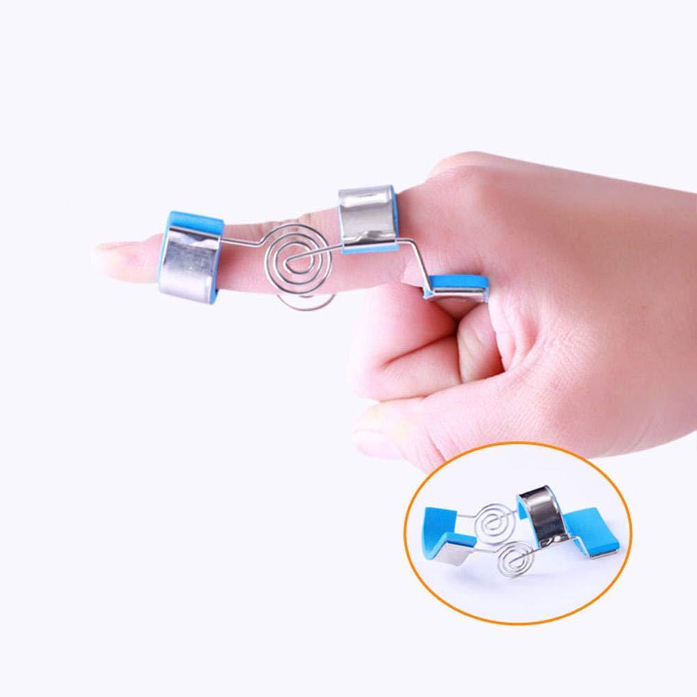 Fingerorthese Fingerschiene Gepolsterte mit Einstellbar Schraubenfeder Finger Schiene Splints in verschiedenen Winkel f/ür Finger Sehnen Release und Schmerzlinderung