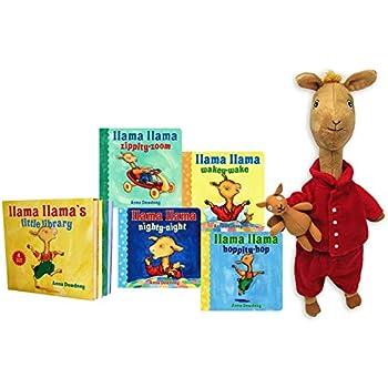 Amazon.com  Llama Llama Red Pajama Book Bundle with Large Stuffed ... b23a883f5