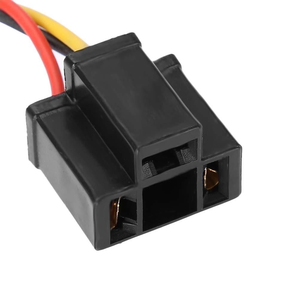 Coche LED Decodificador de Faros Radio Audio Anti-interferencia de Cancelador de Filtro de Filtro para H4 KIMISS 2 Unids ABS Decodificador de Faros