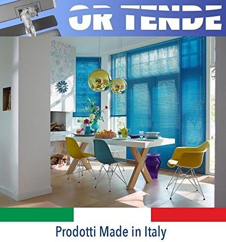 Produzione su Misura ORTENDE Tenda Veneziana in Alluminio da 25 mm Versione Standard Tende Non Kit Cinesi di pessima qualit/à