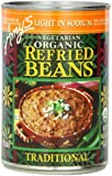 Amy's Vegetarian Organic Refried Beans, Light in Sodium Traditional, 15.4 Ounce (Pack of 12)
