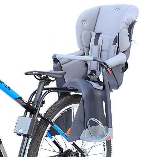 CyclingDeal Bicycle Kids child Rear Baby Seat bike Carrier With Adjustable Seat Rest Height