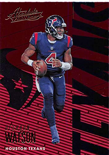 2018 Absolute Football #39 Deshaun Watson Houston Texans Official NFL Trading Card made by Panini