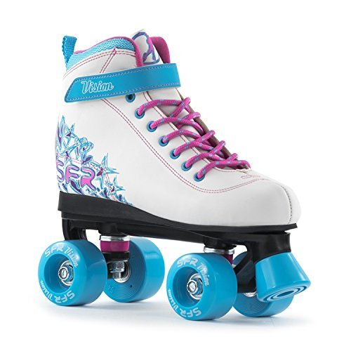 sfr-vision-ii-white-blue-kids-quad-roller-skates-uk-jnr-12-by-sfr