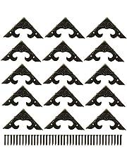 * -50 stuks decoratieve doos hoekbeschermer driehoek-ontwerp decoratieve hoekbeugels en stoelen kast hoek guard rand cover