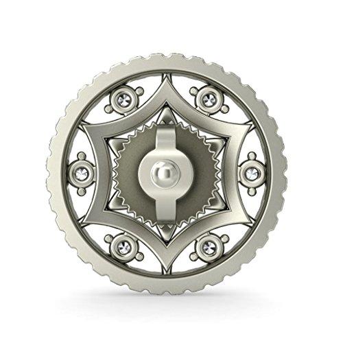18K Or Blanc 0,3CT TW Round-cut-diamond (IJ | SI) Boucles d'oreille à tige