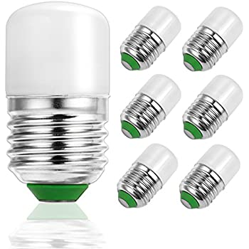 LOHAS Night Light, S11 LED Bulb, 2Watt(25Watt Equivalent), Soft White(3000K), E26(E27) Medium Base, Not Dimmable LED Bulbs, Energy Saving LED Light ...