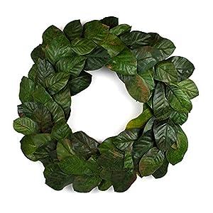 "Vita Domi 30"" Magnolia Leaf Wreath 13"