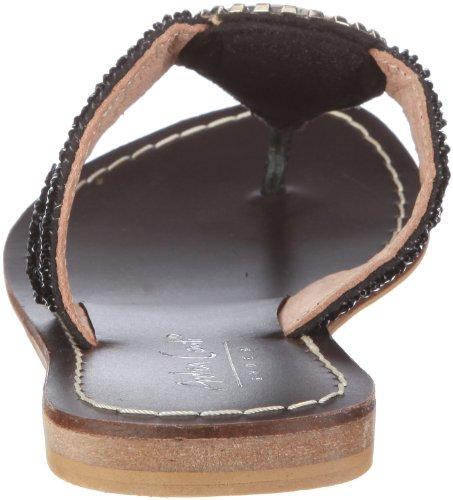 Andrea Conti 0919002 - Zuecos de tela mujer negro - negro/negro
