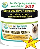 Hip & Joint Premium for Cats, Glucosamine, Chondro...