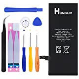 HOMSUM Internal li-ion battery for iPhone 6 with Complete Repair Tools Kit and Instructions [365 DAYS Warranty]