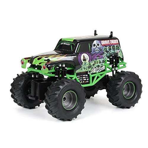 New Bright 1:15 Remote Control Full Function Monster Jam Grave Digger (Digger With Remote Control)
