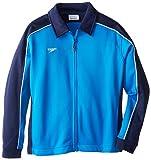 Speedo Big Boys' Youth Streamline Jacket, Navy/Blue, Small