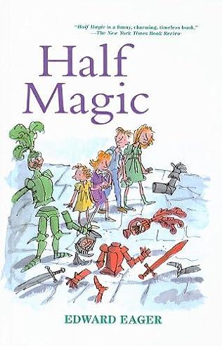 book cover of Half Magic