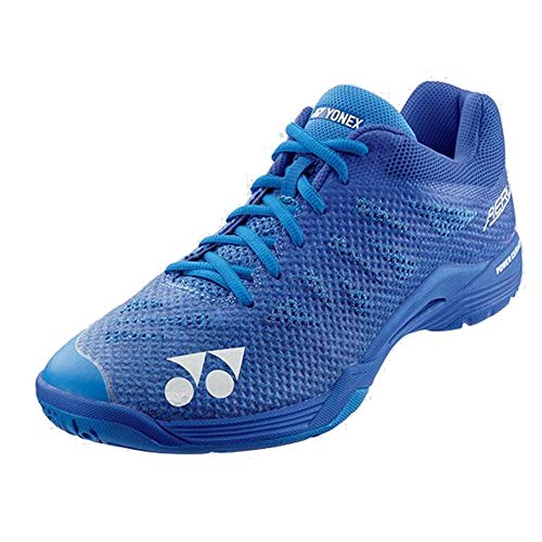 Badminton Yonex Shoes (Yonex Power Cushion Aerus 3 Mens Indoor Court Shoe (Blue) (10.5))