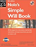 Nolo's Simple Will Book (Nolo's Simple Will Book, 4th ed)