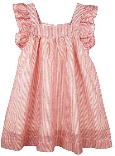 Frill Sleeve Dress - ContiKids Girls Dresses Frill Sleeve Fly Skirt Dress 11 , Fly Pink